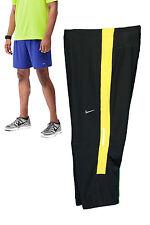 Nike Men's Long Dri-Fit Running Compression Shorts Black & Zest