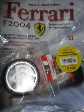 FERRARI f2004/KYOSHO/MODELLISMO/DeAgostini/output 51/neu OVP