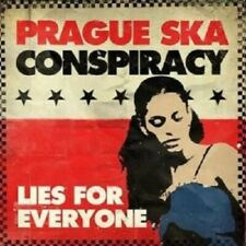 Prague Ska Conspiracy - Lies For Everyone  CD 11 Tracks Rock Reggae  New