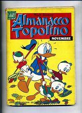 Walt Disney # ALMANACCO TOPOLINO # N.11 Novembre 1968 # Mondadori