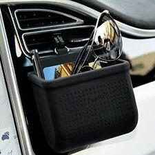 Car Air Vent Storage Bag Organizer Pocket Sunglass Holder Car Mount Phone Hol.