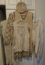 Vintage Lot Of 1920s-1930s Women'S Clothing (Set Of 6) Dress, Jacket, Cap, Etc