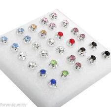 Diamond (Imitation) Costume Earrings