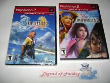 * New * Sealed * Final Fantasy X + X-2 - Sony PlayStation 2 ps2  (X/X-2) RPG Lot