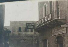 PALESTINE HAIFA OTTOMAN BANCO ROMA BANK RARE 1900 PC