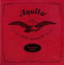 AQUILA U TS 91U Thunder Reds Bass Ukulele E-A-D-G