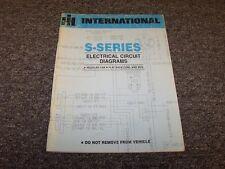 International S-Series S1900 S2000 S2100 Truck Electrical Circuit Diagram Manual