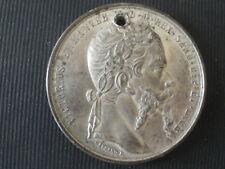 Medaille GAYRARD F  Victorius Emmanuel  Alleanza Franco-Sarda 1859 Torino
