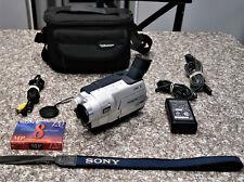 New ListingSony Handycam Ccd-Trv118 8mm Video8 Hi8 Camcorder Vcr Player Video Transfer Hi 8