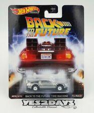 2016 Hot Wheels Retro Entertainment Back to The Future Delorean Time Machine