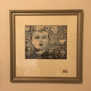Limited Edition David Bromley Framed Print.