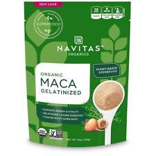 Navitas Organics, Organique, Maca, Gélatineux, 4 oz (environ 113.40 g) (113 g) m...