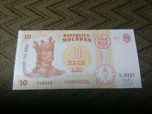 10 lei 2015 UNC Moldova