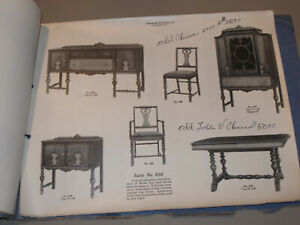 VTG 1910s-20s STATESVILLE FURNITURE CO. CATALOG! BEDROOM & DINING ROOM! PICS! NC