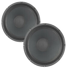 "Pair Eminence BETA-12CX 12"" Coax Woofer 8 ohm 500W 96.4dB 2"" Coil 38oz Magnet"