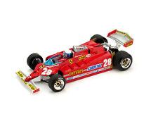 Ferrari 126CK Turbo GP Usa Ovest 1981 Pironi #28 Race + Driver 1:43 2011 Model