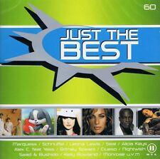 Just the Best Vol 60 - 2 CD NEU Stanfour Scooter Seal Sasha Kool Savas Das Bo