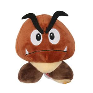 Super Mario Bros Goomba Plush Doll Stuffed Animal Figure Toy 5 inch Gift