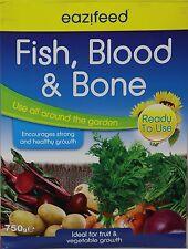 Eazifeed pesce sangue ossa organici MULTIUSO concime piante ortaggi 750g