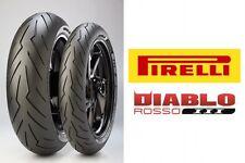 "Pirelli Diablo III 120/70-17"" 180/55-17"" Motorbike Tyres suit Honda CBR600F4i"