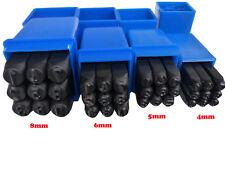 Schlagstempel Schlagzahlen 4-5-6-8mm Einschlagzahlen Punze Schlagziffern Nummern