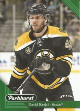 David Krejci #19 - 2017-18 Parkhurst - Base