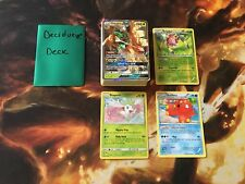 Pokemon Complete Deck - **Decidueye** - Decidueye GX, Octillery, Shaymin