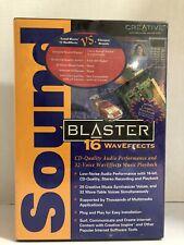 Sound Blaster 16 Waveffects ISA Sound Card SB4525 SoundBlaster Brand New