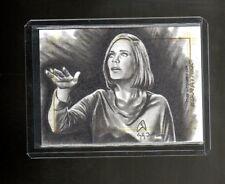 2017 Women of Star Trek 50th Anniversary Emily Tester Sketch