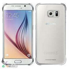 Genuine Original Samsung SM-G9208/SS/G920A/G920F Galaxy S6 Clear Back Cover Case