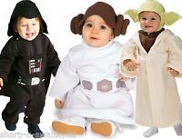 Cute Baby Girls Boys Star Wars Yoda Darth Vader Leia Fancy Dress Costume Outfit