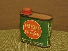 Energine Cleaning Fluid Vintage 3 oz. Tin (1940s-50s)