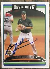 BEN ZOBRIST RC ROOKIE 2006 TOPPS SIGNED AUTO AUTOGRAPHED CHICAGO CUBS ASTROS RAY