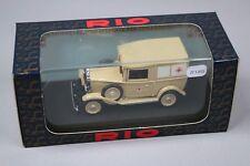ZC1301 Rio SL025/A Voiture miniature 1/43 Fiat Balilla 1935 Italian Red Cross