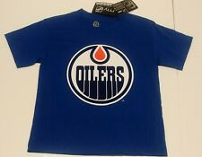 Edmonton Oilers Boy's T Shirt Size 14/16 New With Tags