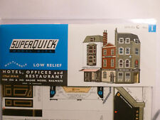 Superquick C Series Card Kit C1 Low Relief Hotel Offices & Restaurant OO/HO NEW
