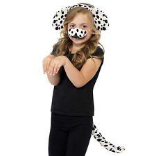 Kids Girls Boys Spotty Dog Puppy Dalmatian Animal Pet Fancy Dress Book Day Kit