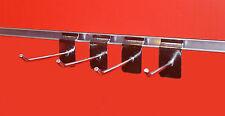 100 x 10 cm Haken für Lamellenwand, Paneelwand, Abhängearm, Warenträger