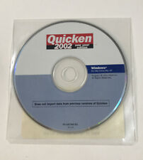 Intuit Quicken 2002 New User Edition CD-ROM PN 247340 R1 Vintage Software