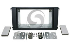 Radio Stereo Installation Dash Kit Double Din RUBBERIZED BLACK KT-PR005RB*