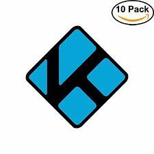 Kodi Black Media Player MPC Sticker Stickman decal vinyl sticker 10 Stickers
