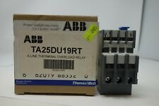 ABB TA25DU19RT A Line Therminal Overload Relay *NEW* (FREE SHIPP)