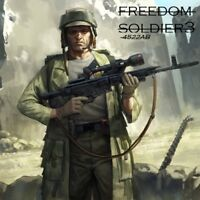 NEW ! WOW!  pc games shooter  Freedom Soldier 3#(100 years later!)