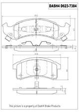 Dash4 Ceramic Disc Brake Pad fits 1994-1999 Pontiac Bonneville Firebird Trans Sp