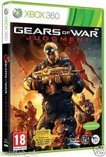 Gears Of War Judgment Juego Para Xbox 360 francés envases, sino desempeñar Inglés X360