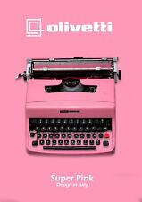 LIGHT PINK TYPEWRITER - OLIVETTI 32 - Vintage typewriter