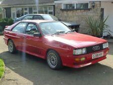 Audi UR Quattro Turbo. 20v RR 1989 Red