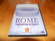 ROME ENGINEERING AN EMPIRE Ancient Romans Roman HISTORY CHANNEL DVD Rare OOP