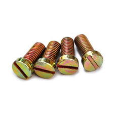 M5 colum head slotted screw cylindrical multicolor zinc plating bolts 3-16mm