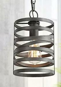 New LNC Home Metal Pendant Lighting Kitchen Island Dining Rustic Modern